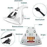 REWD Aspirateur domestique anti-acariens portable antibactérien avec stérilisation à haute efficacité