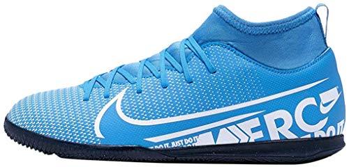 Nike Unisex JR Superfly 7 Club IC Fußballschuhe, Mehrfarbig (Blue Hero/White-Obsidian 414), 36 EU
