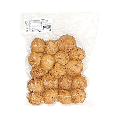 【mamapan】きたあかりS玉皮付き 1kg 北海道産 ゆでじゃがいも 黄金男爵 ポテト