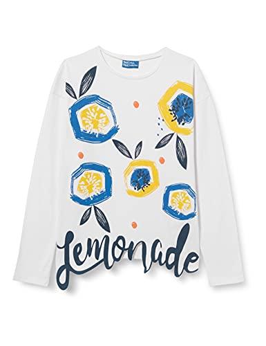Tuc Tuc Camiseta Punto Lemonade, Blanco, 12A para Niñas