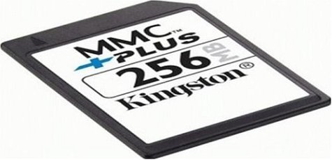 Kingston Flash Memory Card - 256 MB - MMCplus (MMC+/256) (Retail Package)