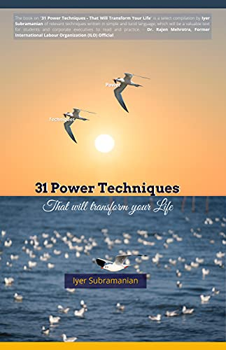 31 Power Techniques- That will transform your life (English Edition)
