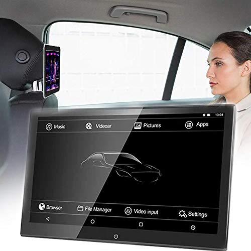 QJJML Auto-Videoplayer, Tragbarer 12,5-Zoll-KopfstüTzenmonitor 1920 X 1080 UltradüNner HD-Touchscreen Mit TF/USB/HDMI/Anschluss,Geeignet FüR Fernreisen In Der Kinderauto-Unterhaltung