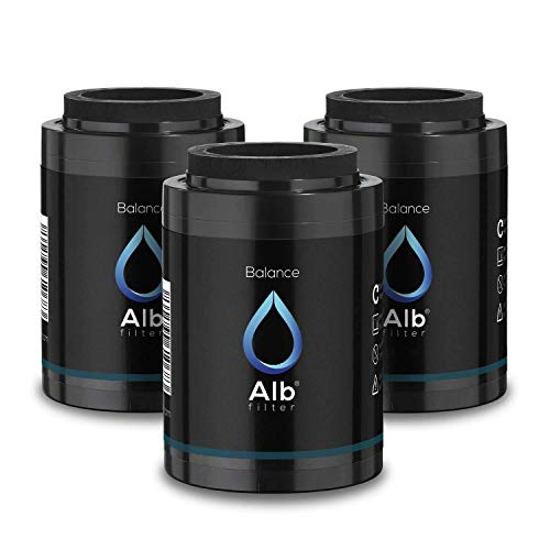 Alb Filter® Balance Ersatzkartusche 3er Set. Schadstoffe reduzieren zB Chlor, Schwermetalle.