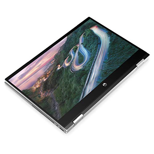 HP Pavilion x360 14-inch FHD Touchscreen Convertible Laptop with 4G LTE (Intel Core i5-1135G7/8GB/512GB SSD/Win 10/MS Office 2019/Inking Pen/FPR/Natural Silver/1.61kg), 14-dw1039TU
