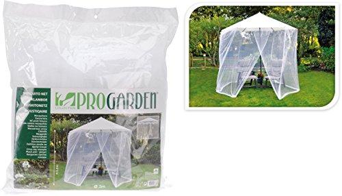 Moskitonetz Mückennetz Parasol Sonnenschirm Ø 3 Meter