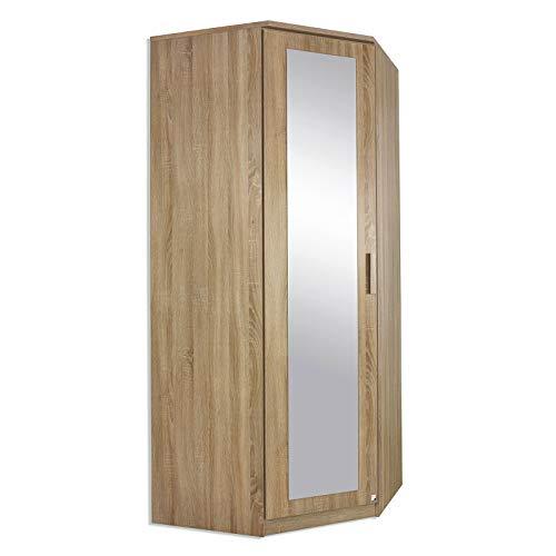 ROLLER Eckschrank - Sonoma Eiche - mit Spiegeltür