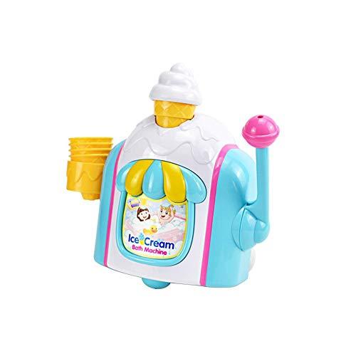 100% fabricado con plástico de seguridad que utiliza material de protección ambiental ABS. El juego de rol para bebés en el baño hace que se enamoren del baño. Los niños pueden hacer sus propios helados simulados y divertirse mucho en el baño. Primer...