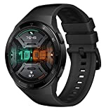 HUAWEI Watch GT 2e Smartwatch (46mm AMOLED Touchscreen, SpO2-Monitoring,Herzfrequenz-Messung,Musik Wiedergabe,GPS,Fitness Tracker,5ATM wasserdicht) Graphite Black[Exklusiv+5 EUR Gutschein]