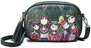 Small handbag Girls Fashion stylish outdoor Messenger bag personality unique 3D cartoon printing shoulder bag crossbody ba...