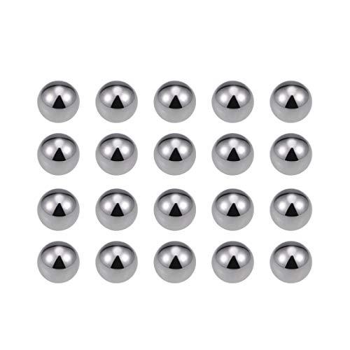 uxcell 6mm Carbon Steel Bearing Balls Precision Balls 100pcs