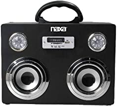 NAXA Electronics Portable Wireless Sound System and MP3 Player with Bluetooth photo