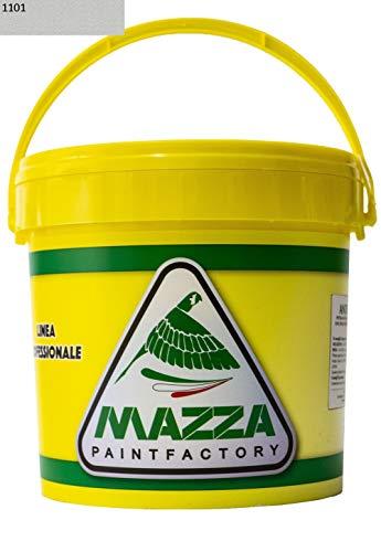 Waschbare Innenfarbe aus Acryl, 5 l, für Innenwände und Außenwände, weiß und bunt, Farbe des Schlägers, weiß