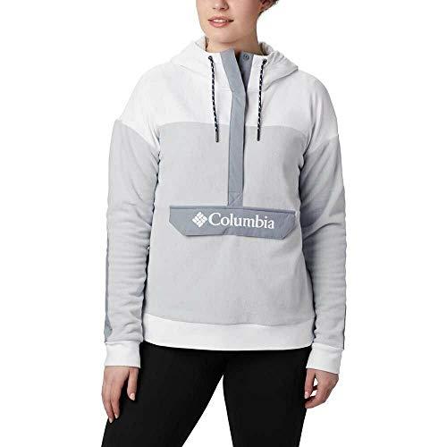 Columbia Exploration Fleece Anorak Cirrus Grey/White MD