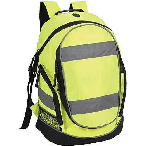 Shugon - Mochila de alta visibilidad (23 litros) (Talla Única/Amarillo fluorescente)