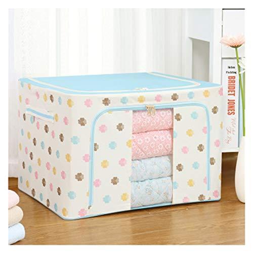 Klädförvaringslåda 22L / 66L Fällbar förvaring Box Smutsig Kläder Samla Fall Non vävt tyg med dragkedja Fuktbeständig Leksaker Quilt Storage Box Fint utförande, snyggt och praktiskt