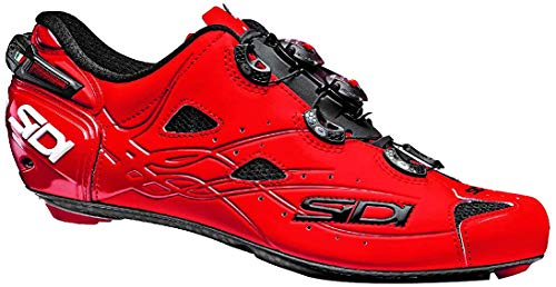 Sidi Shot Schuhe Herren matt red Schuhgröße EU 48 2020 Rad-Schuhe Radsport-Schuhe