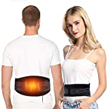 Heating Waist Belt Wrap, Compression Lower Back Heat Therapy Pad Pain Relief for Abdominal Stomach Lumbar Muscle Strain, Dysmenorrhea Abdominal Pain, Good Back Warmer Fit for Men and Women