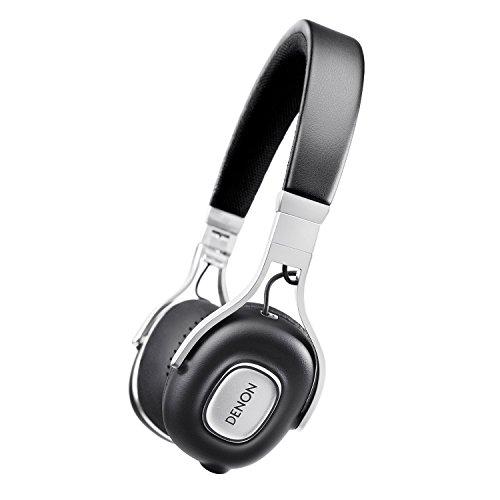 Denon AH-MM200 On Ear-Kopfhörer (30 mm Treiber, Aluminium-Kopfbügel) schwarz