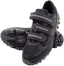 Tommaso Vertice 100 Men's All Mountain Vibram Sole Mountain Bike Shoes - 43 Black