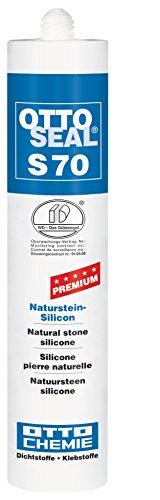 OttoSeal S70, dass Premium-Naturstein-Silicon, 310ml Farbe: C05 BRAUN