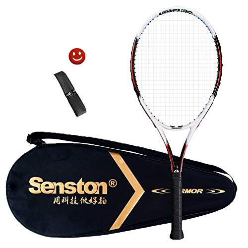 Senston Tennis Racket 27'' for Adults with Premium Carry Case Tennis...