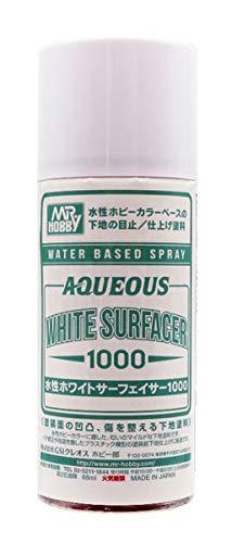 水性ホワイトサーフェイサー1000スプレー