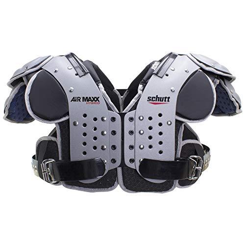 Schutt Sports AiR MAXX Hybrid Varsity Football Shoulder Pads, 2X-Large, All Purpose