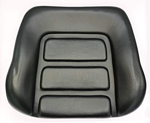 Gorilla Rückenpolster passend Grammer DS85 /90 PVC schwarz Rückenkissen