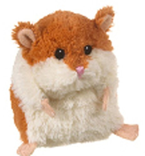 Ganz Brown & White Plush Lil' Hamster