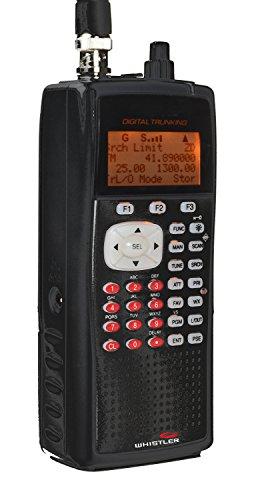 police scanner for home uses Whistler WS1040 Handheld Digital Scanner Radio