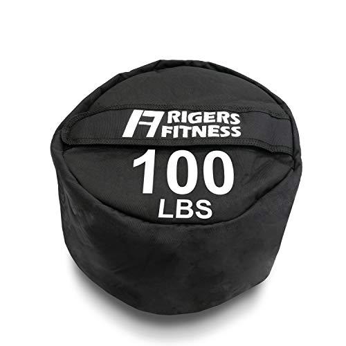 RIGERS Sandbags Heavy Duty Training Bags for Cross Training, Weightlifting, Stone Lift (100 LB)