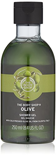 The Body Shop Olive Shower Gel, Paraben-Free Body Wash, 8.4 Fl. Oz.