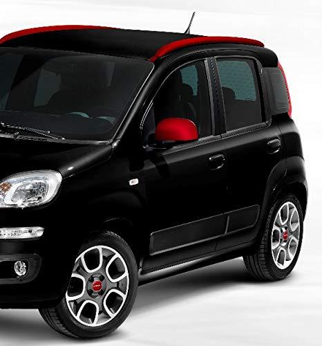 Calotte rétroviseurs Fiat Panda Rouge mat 735551002