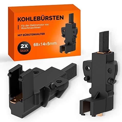 2 spazzole di carbone di ricambio per Whirlpool 481236248004 Carbone abrasivo per motore Bauknecht Ignis Philips