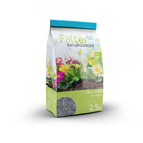 Gemüse und Hochbeetdünger - hochwertiger organischer Biodünger - Flocken - Nährstoffdünger, Rasendünger - Qualitätsprodukt aus Bayern - 2,5kg