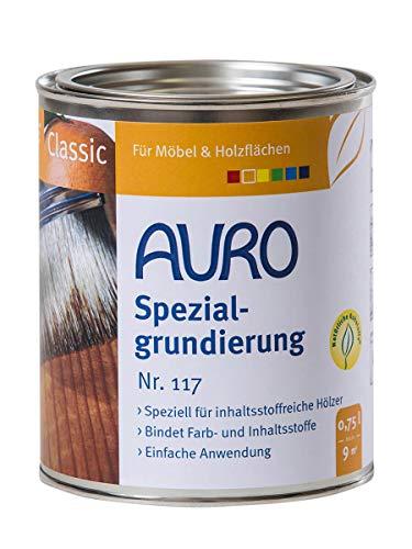 AURO Spezialgrundierung Classic Nr. 117 Farblos, 0,75 Liter