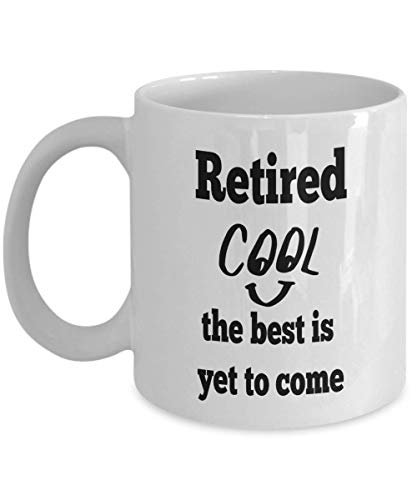 Jopath Tazas de jubilación – regalo divertido para hombres jubilados, mujeres, compañeros de trabajo, trabajo de oficina, taza de café de cerámica de 12 onzas blanca-blanca-12 onzas