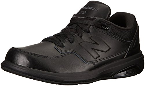 New Balance Men's 813 V1 Lace-Up Walking Shoe, Black/Black, 10.5 XXW US