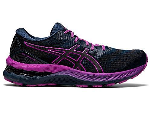 ASICS Women s Gel-Nimbus 23 Lite-Show Running Shoes, 7.5, French Blue LITE-Show