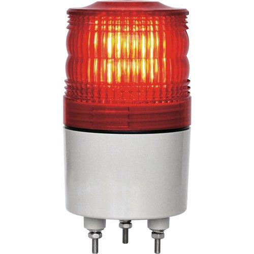 日惠製作所 日惠製作所(nikkei) NIKKEI ニコトーチ70 VL07R型 LED回転灯 70パイ 赤 VL07R-D24NR 1台 818-3285