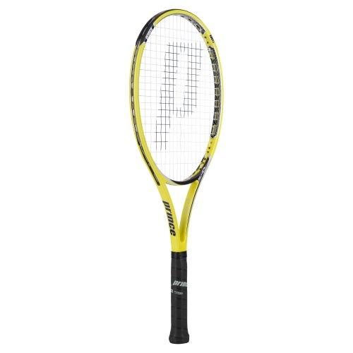 Prince Tennisschläger Exo3 Rebel 105 Besaitet, gelb/schwarz, L4, 7T18J205