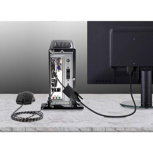 Renkforce USB/PS/2 Maus Adapter [1x PS/2-Stecker - 1x USB 2.0 Buchse A] Schwarz