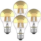 Half Chrome Light Bulb 6W (60 Watt Equivalent)...