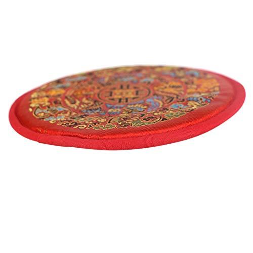 Pad für Klangschale mit diversen traditionellen Mustern - 14cm