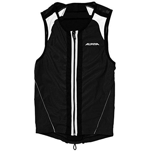 ALPINA Jacket Soft Protector, Farbe: weiß, Unisex - Erwachsene, Schwarz - schwarz, M 173-178