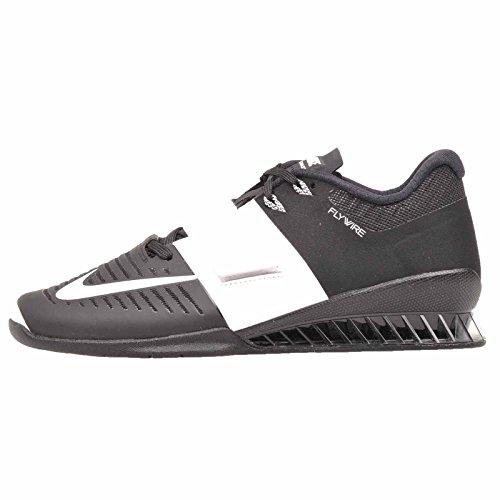 Nike Wmns Romaleos 3, Zapatillas de Deporte Mujer, Negro (Black/White 001), 35.5 EU