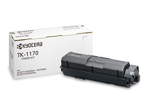 Kyocera TK-1170 Toner Black, 7,200 Pages, Original Premium Printer Cartridge 1T02S50NL0 for ECOSYS M2040dn, M2540dn, M2640idw