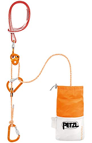 PETZL Erwachsene Verticality Rad System, orange, 30 m