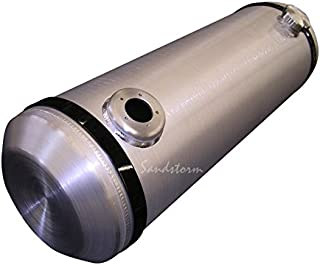 Sandstorm 10x30 End Fill Spun Aluminum Gas Tank - 10 Gallon with Sending Unit Flange - Offroad - Dune Buggy - Trike - Sandrail - boating - Made in the USA!